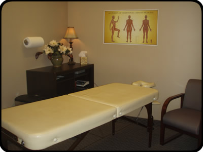 Parkway CHiropractic Acupuncture Room